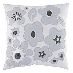 Go Lightly Throw Pillow (Grey)