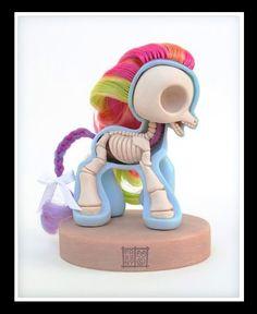 My Little Pony Skeleton