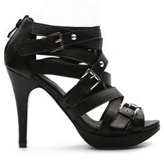 Won these on EBay too! Black Gladiator Pumps.  They are Delicious! $19.99 + shipping which was 10 dollars.