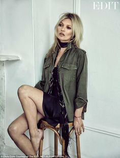 She's somewhat of a veteran in the modelling world, but Kate Moss talks candidly about the...