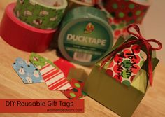 Reusable Duct Tape Tags...Great to remember if I run out of tags.