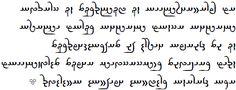 Script Avestan