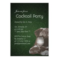 Shop Cocktail Party Green Damask Pug & Fine Wine Invitation created by myinvitation. Bachelor Party Invitations, Cocktail Party Invitation, Custom Invitations, Invites, Wine Wednesday, Cheap Wine, Wine Cocktails, Wine Parties, Wine Online