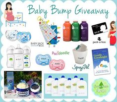 Baby Bump Giveaway | Parenting Patch: Enter to win one (1) baby prize pack. Open to legal residents of the United States of America. Ends on August 27, 2014.