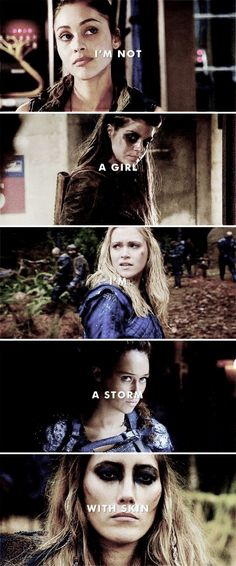 The 100:my favorite show and cute quote