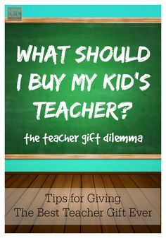 What in the World Should I Buy My Kid's Teacher...Tips & Ideas For Giving The Best Teacher Gifts Ever via KansasCityMamas.com