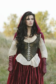 Meghan Ory : Once Upon a Time, Red Riding Hood