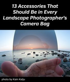 Want to know which accessories you should have as a landscape photographer? Here is a list of the most important ones.