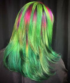 Watermelon hair by Ursula Goff