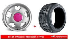 Alloy #wheels & #tyres 16'' #tansy love for vw golf [mk3] 5 stud 92-97,  View more on the LINK: http://www.zeppy.io/product/gb/2/311679994406/