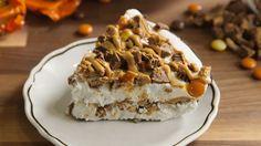 Reese's Ice Cream Pie Is Peak Peanut Butter & Chocolate  - Delish.com