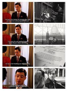 favorite scene from gossip girl chair <3