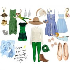 Disney's 'Peter Pan' inspired outifts