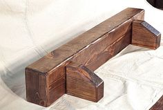 Knotty Pine Fireplace Mantel Shelf Rustic Beam w Corbels Made to Size 22 Colors #OACHome #RusticPrimitive