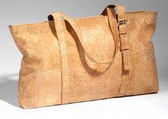 Bolso DIY con tejido de corcho