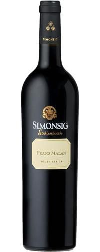 Impress your boss with a bottle of Simonsig Frans Malan 80 points, value. South African Wine, Wines, Boss, Bottle, Flask, Jars