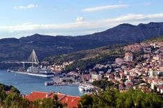 View over the Port of Dubrovnik