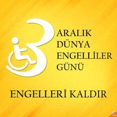 ENGELLERİ KALDIR 3 Aralık Dünya Engelliler Günü  #Qapel #EngelleriKaldır #3AralıkDünyaEngellilerGünü www.qapel.com.tr/fb