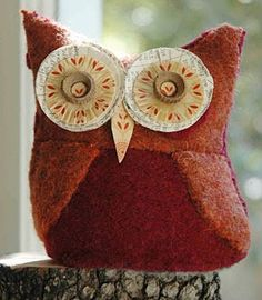 Owl Plushies by 'Night Owl Paper Goods'