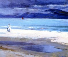 The North End, Iona Francis Campbell Bolleau (F.C.B.) Cadell - circa 1914