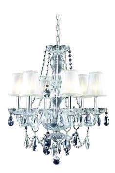 Elegant Lighting - 2057 Niagara Collection Pendant lamp L:40\