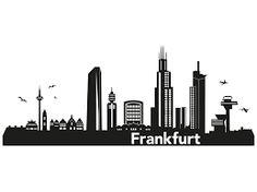 Frankfurt Skyline Comic