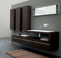 Modern Bathroom Vanities - modern - bathroom vanities and sink consoles - other metro - The Interior Gallery