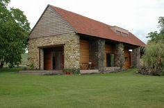 Revitalizace stodoly v Ohařích