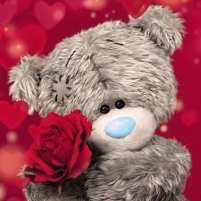 Florynda del Sol ღ☀¨✿ ¸.ღ ♥Tatty Teddy Love♥ Anche gli Orsetti hanno un'anima…♥ Tatty Teddy, Teddy Bear Images, Teddy Bear Pictures, Teddy Bear Quotes, Teddy Beer, Valentines Day Teddy Bear, Animated Heart, Bear Card, Blue Nose Friends