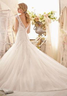 Mori Lee Bridal Gown Style - 2619