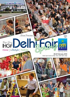 Plan your visit to the IHGF Delhi Fair, Spring 2016 #homedecor #lifestyle #fashion #tradeshow
