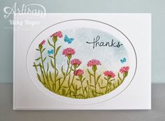 Stampin' Up ideas and supplies from Vicky at Crafting Clare's Paper Moments: I'm wild about Wild About Flowers!