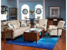 Home stagers, deep blues are in this season. Incorporate this color into your staged homes!
