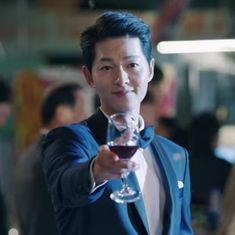 Asian Actors, Korean Actors, Soon Joong Ki, Decendants Of The Sun, Good Morning Call, Cute Blonde Boys, Song Joong, Human Poses Reference, Korea Boy