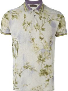 Shop Etro floral print polo shirt in Mengotti from the world's best independent boutiques at farfetch.com. Shop 400 boutiques at one address.