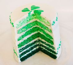 St Patricks Day Cake -