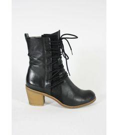 Finsk Lace-Up Pony Boots / 38 - WST.fi