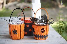 Fun and easy Halloween buckets