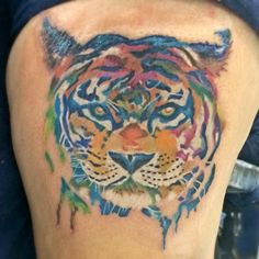 My tiger tattoo..