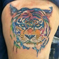 My tiger tattoo..