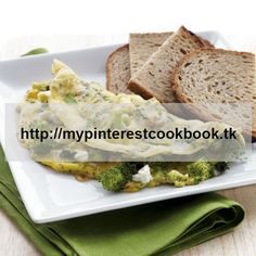 Who needs breakfast in a diner when you can whip up a dish like this in no time flat? Use either fresh or frozen broccoli. Both work just fine. The feta cheese adds some CLAs plus a punch of flavor, too. Recipe on MyPinterestCookBook.tk