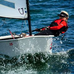 Alberte Møller Rehné sejler Tunø rundt #egåsejlklubungdom#optimistsejler