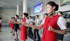 Share this on Chinese Fight Attendants Are Learning Kung Fu to Fight Terrorist