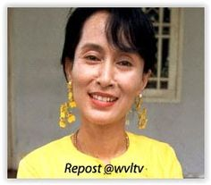 Aung San Suu Kyi is one of the world's most renowned freedom fighters and advocates of nonviolence. A central figure of the pro-democracy movement in Myanmar. Also a Nobel Peace Prize Winner Great Women, Beautiful Women, Famous People In History, Nobel Prize Winners, Fight For Freedom, World Economic Forum, Important People, Freedom Fighters, Actors