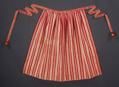 SWEDISH girl's folk costume apron Leksand Sweden by ethnicdress