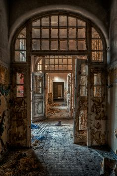 Decaying asylum - Very cool.