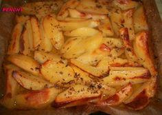 Patatas asadas al limón griegas Potato Recipes, Lunch Recipes, Vegetable Recipes, Cooking Recipes, Healthy Recipes, Couscous, Pollo Chicken, Barcelona Food, Greek Dishes