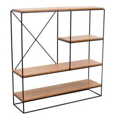 Paul McCobb - Paul McCobb Planner Group Iron Shelf Unit offered by Original in Berlin on InCollect Small Storage Shelves, Wood Shelves, Free Standing Shelving Units, Kitchen Furniture Inspiration, Retail Shelving, Paul Mccobb, Iron Shelf, Interior Desing, Buy Furniture Online