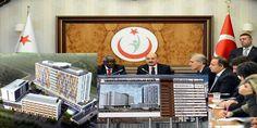 Sağlık Bakanı Dr. Mehmet Müezzinoğlu'nun LÖSEV'in Ankara Gölbaşı'ndaki İncek mevkiinde hayata geçiri...