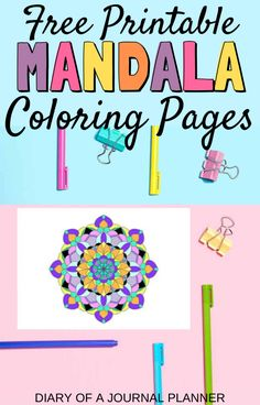 These free printable mandala coloring pages will help you relax and recharge, with intricate abstract drawings designed for adults! Quote Coloring Pages, Mandala Coloring Pages, Colouring Pages, Printable Coloring Pages, Coloring Books, Coloring Pages For Grown Ups, Coloring Sheets For Kids, Free Adult Coloring Pages, Mindfulness Colouring Printable